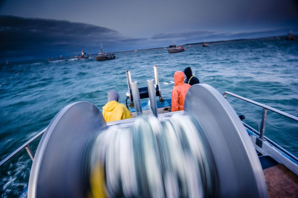 Commercial Salmon fishing in Bristol Bay