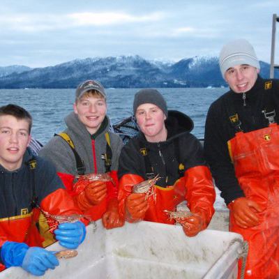 Founder of Wild Alaskan Seafood Box