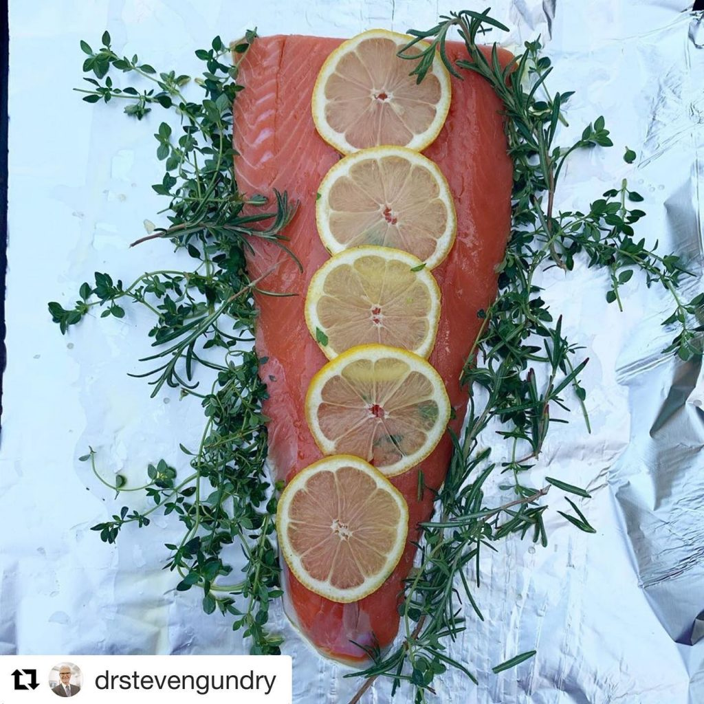 Dr Steven Gundry on Wild Seafood