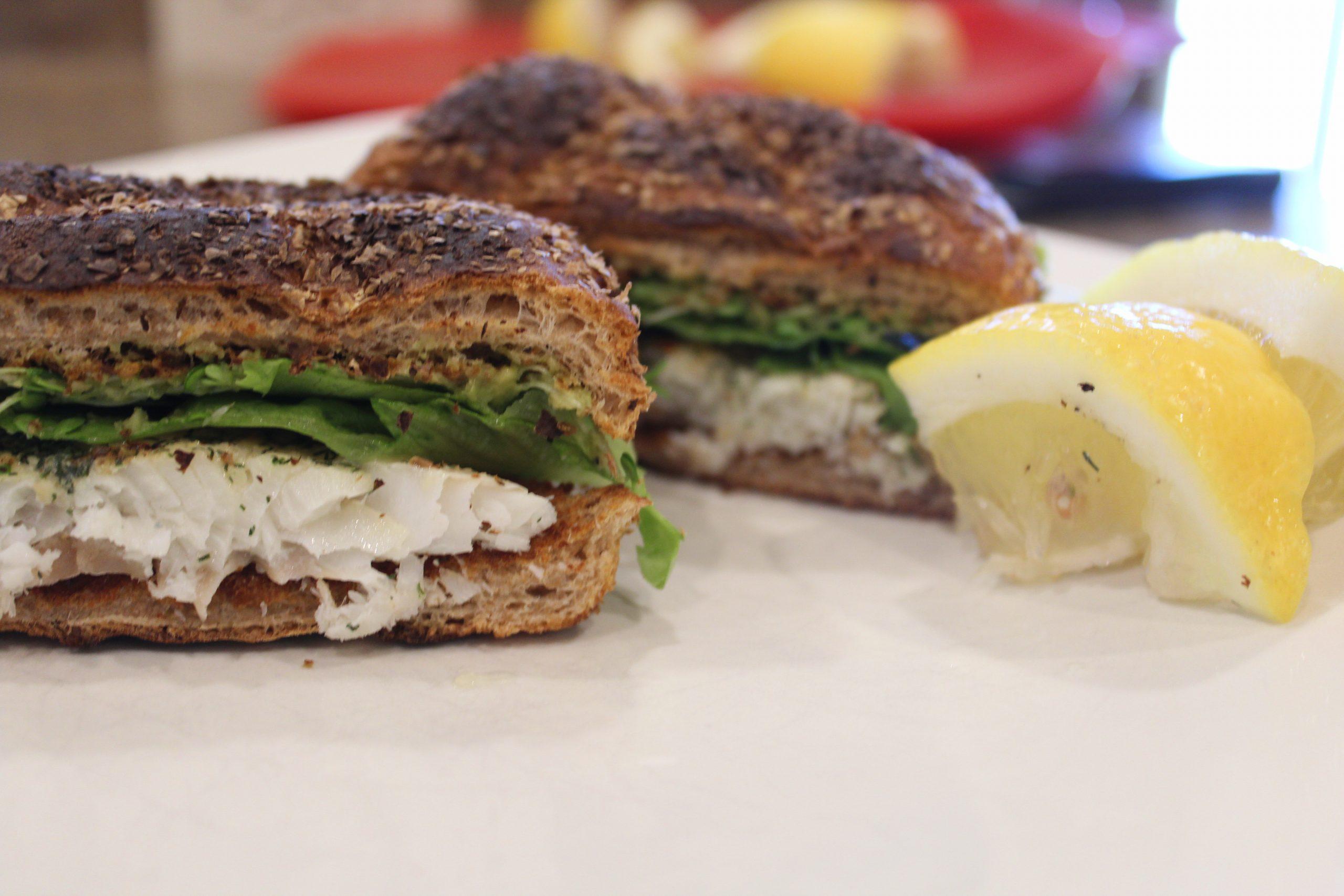 How to Make Alaskan Cod Burgers
